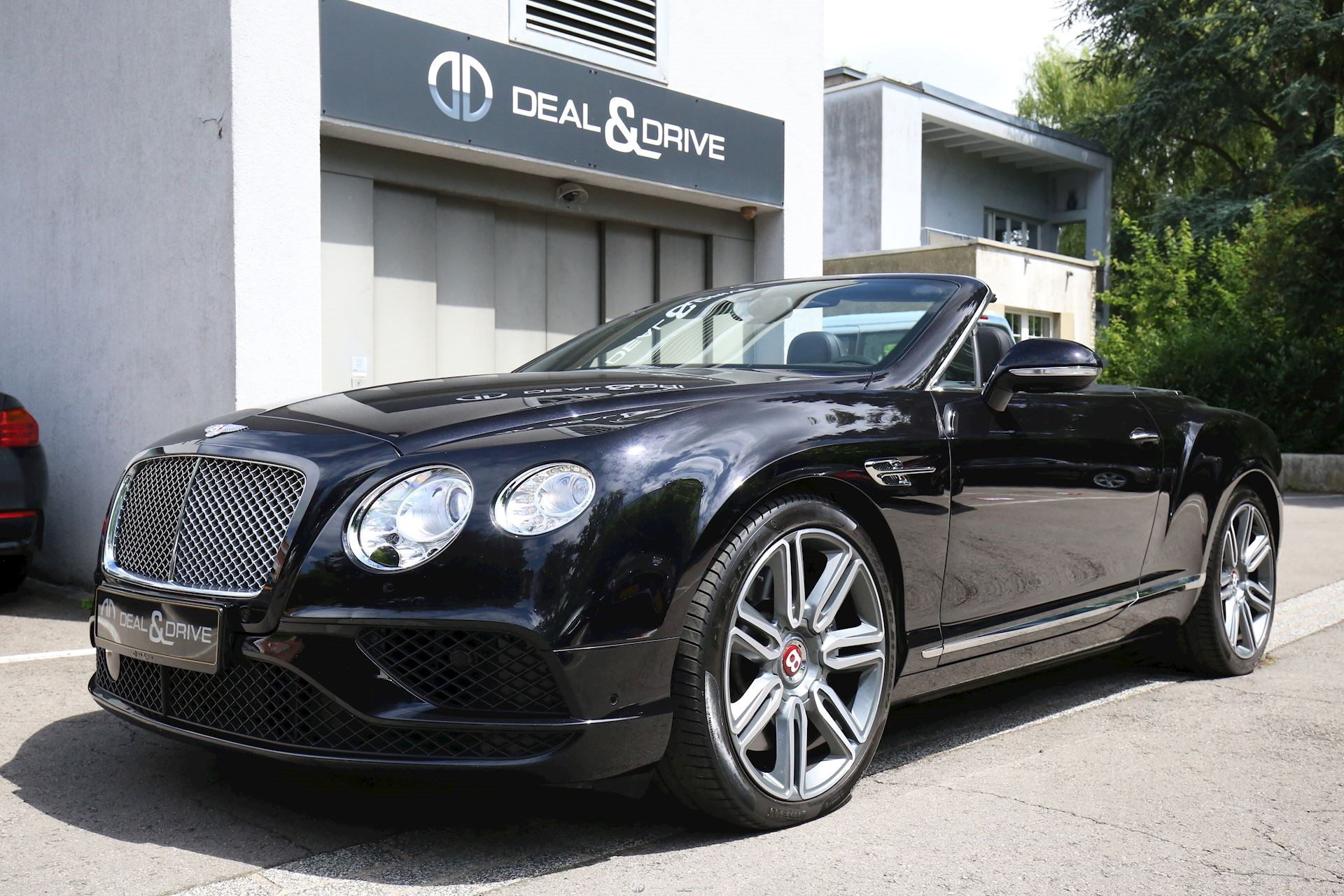 BENTLEY Continental GTC V8 Deal & Drive