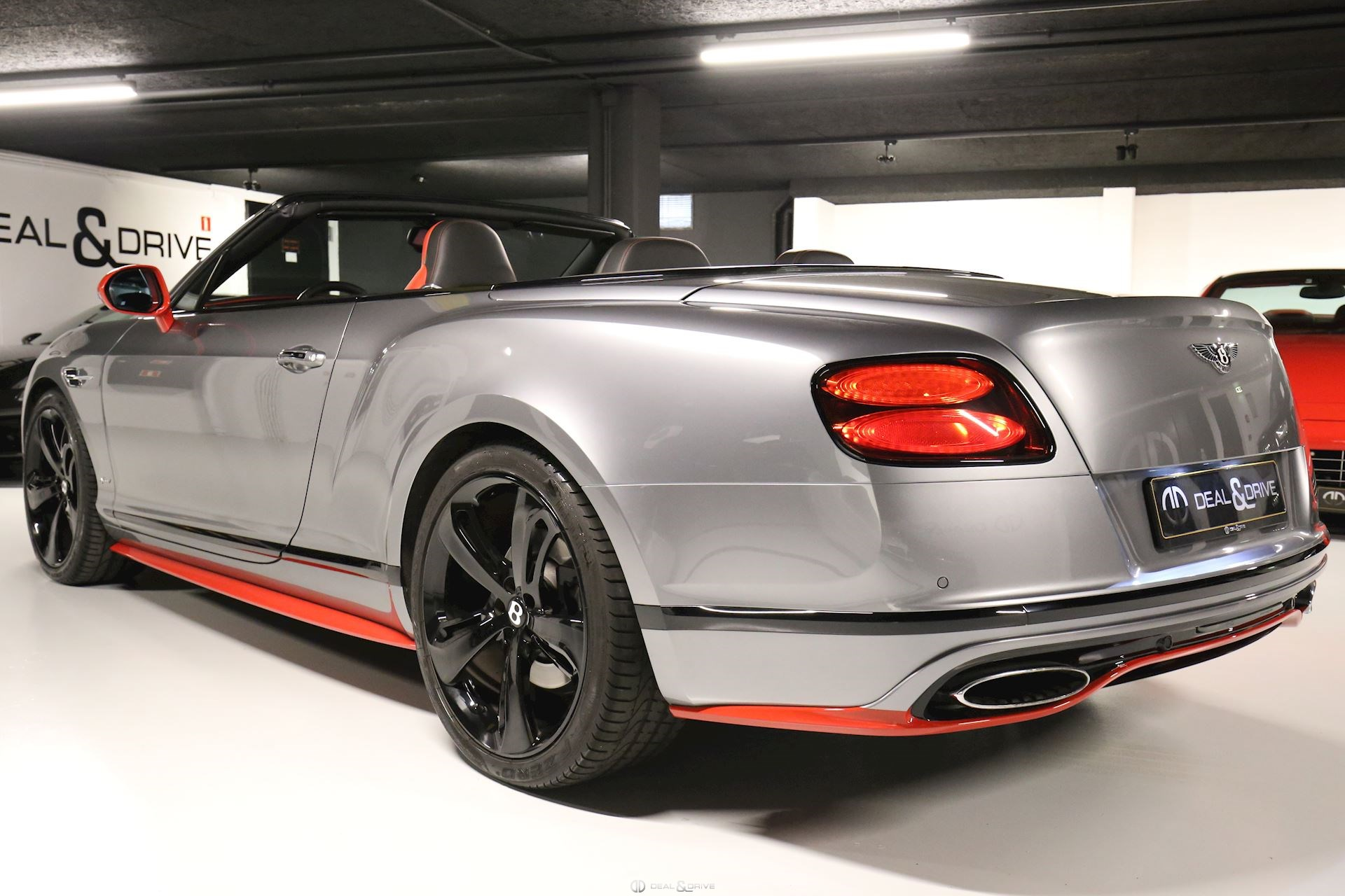 BENTLEY CONTINENTAL GTC SPEED Deal & Drive