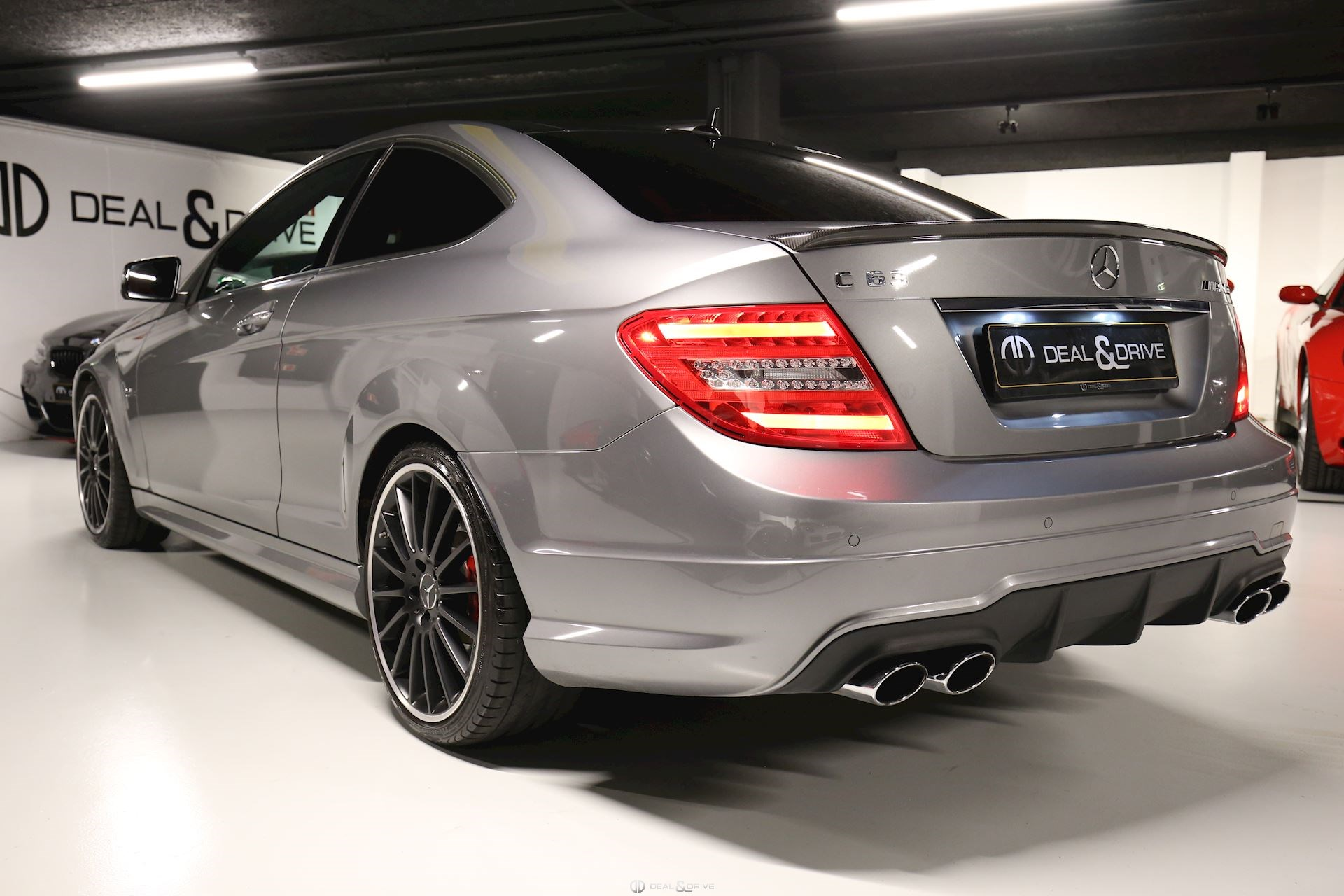 MERCEDES C63 AMG COUPE PERFORMANCE Deal & Drive