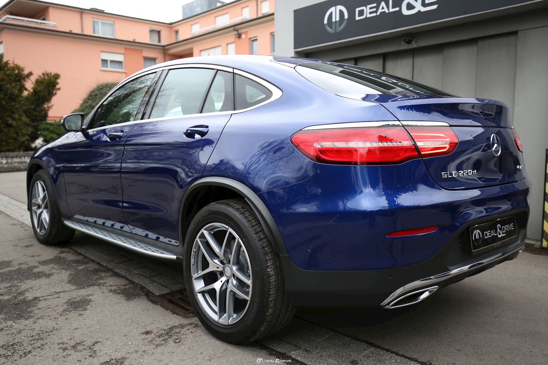 MERCEDES GLC Coupe 220 d AMG Deal & Drive
