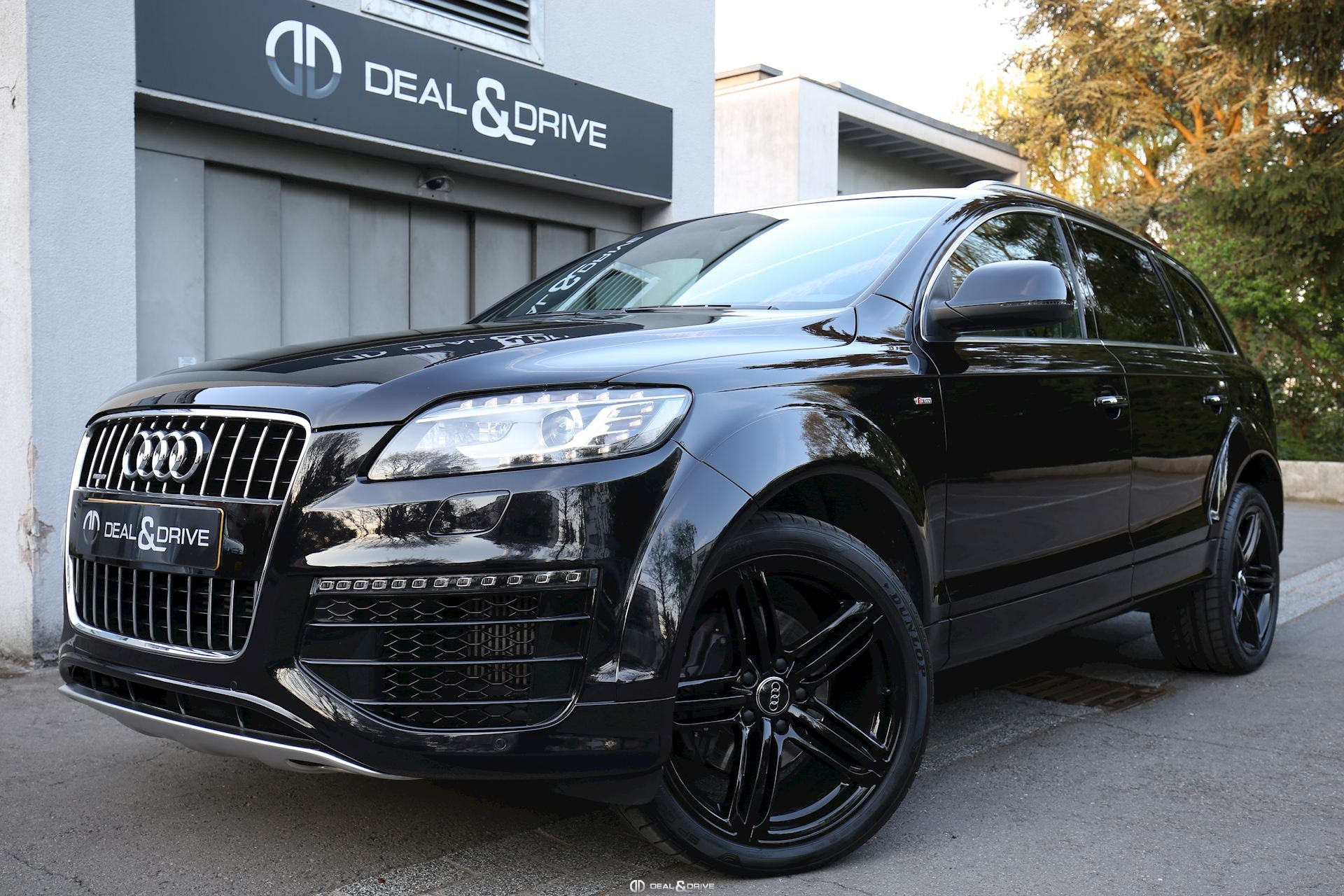 audi q7 3 0 tdi quattro s line 7 seat deal drive. Black Bedroom Furniture Sets. Home Design Ideas